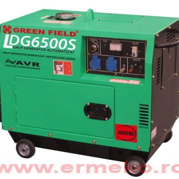 Generator de curent monofazat, stationar - ER-LDG6500S