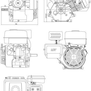 Motor LCT 291cc