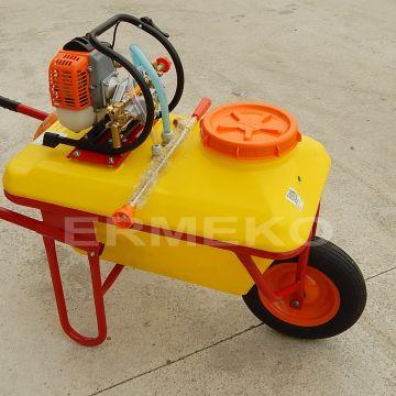 Pulverizator cu motor tip roaba AGRIMOTOR TPB-256