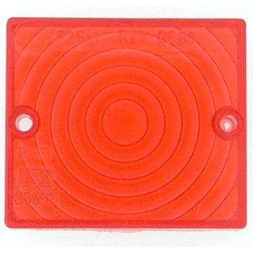 Sticla rosie pentru ansamblu semnalizator - ER2801835 - ER2801822