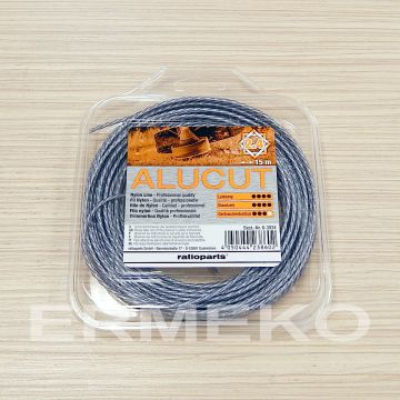 Fir damil Hybrid Twisted AluCut 2.4 mm / 15 m - ER6-3934