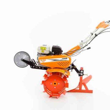 Motosapa RURIS 7088 (include roti cauciuc 4.00x8, dispozitiv de scos cartofi si plug ingropat - rarita)
