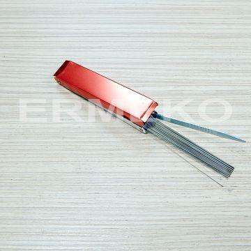 Instrument de curatare carburatoare - 12 tije metalice calibrate Ø 0,45mm la Ø 1,68mm - ER9207022